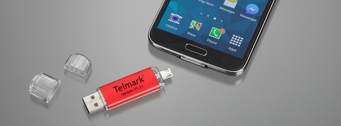 Printed Dual OTG USB flash drive for Android