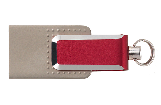 OTG dual flash drive mini red