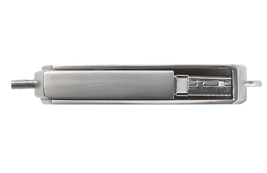 Data locked printed usb flash drive swivel steel