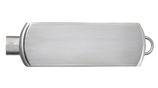 Data critical custom usb flash drive swivel steel