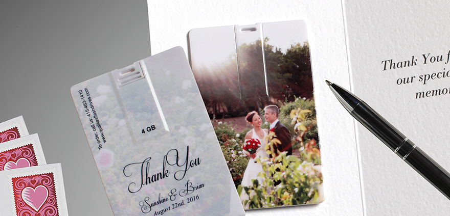 Wedding Thank USB Photo for Blog